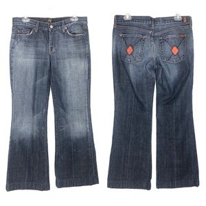 7 For All Mankind Dojo Argyle Pocket Jeans